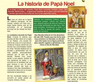 La historia de Papa Noel