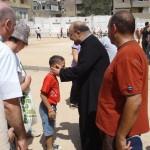 Con Su Beatitud el Patriarca Copto-Católico de Alejandría (Egipto).