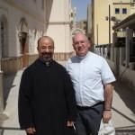 Con Su Beatitud el Patriarca Copto-Católico de Alejandría (Egipto) Mons Ibrahim Isaac Sidrak.