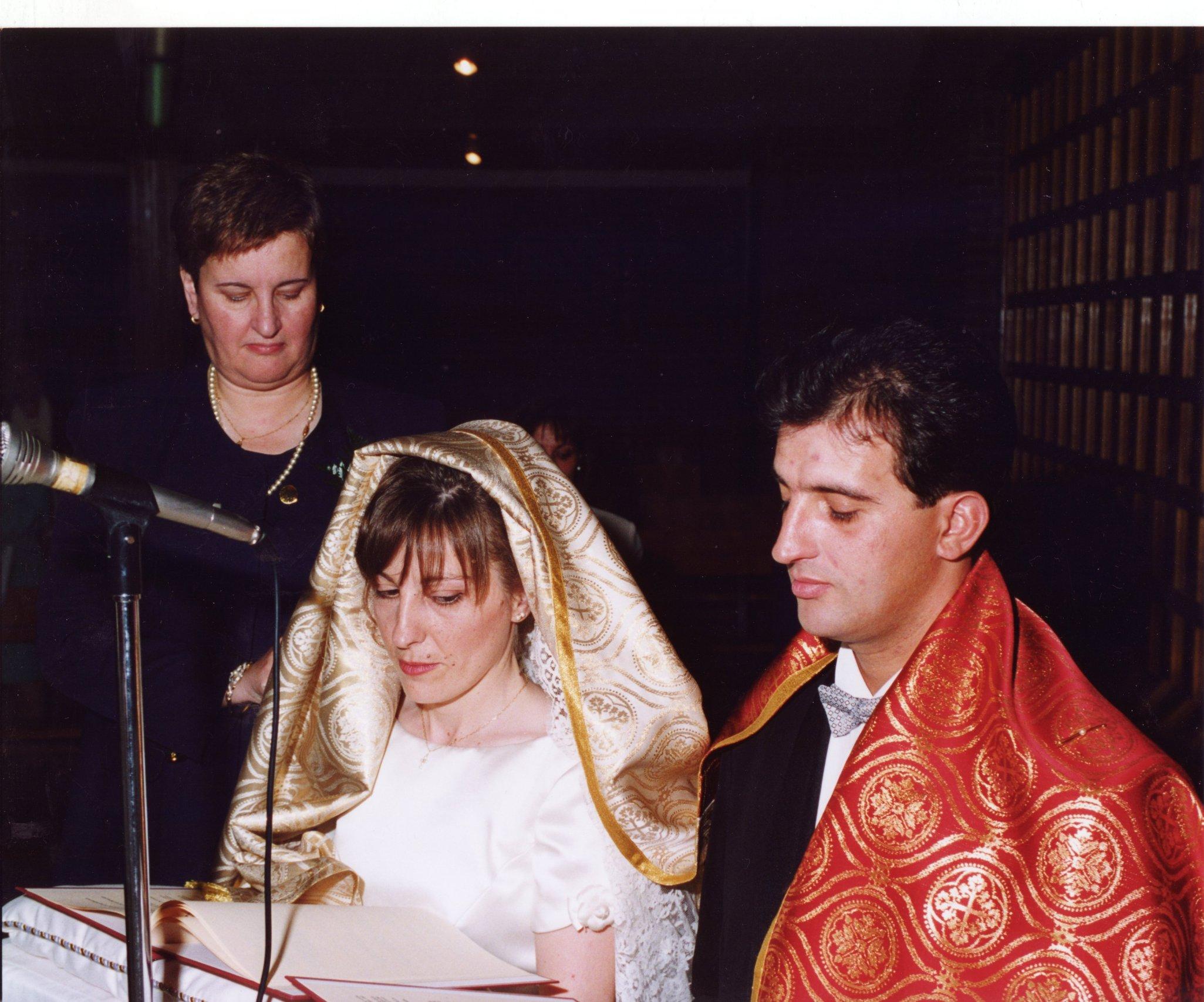 Liturgia Matrimonio Rito Romano : Velación de los esposos mozarabia