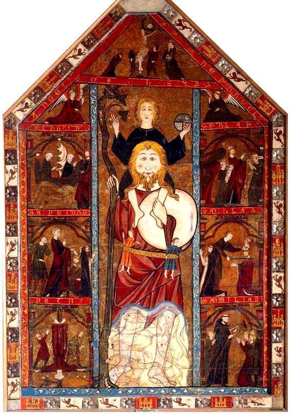 retablo de san crist243bal asc233tica y m237stica mozarabia