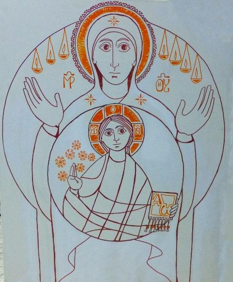 Virgen del Adviento Rub Trazos W